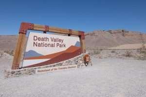 Valle della morte California