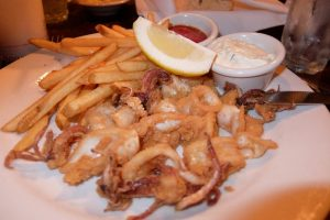 Morro bay deep-fried calamari
