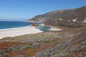 California spiaggia verso San Francisco