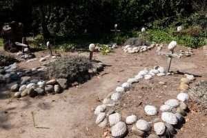 Missione di Carmel il cimitero California