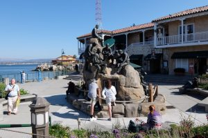 Monterey cannery row monument