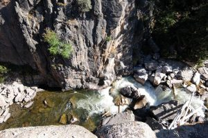Bighorne national park canyon