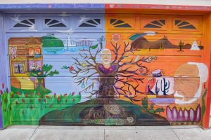 San Francisco murales del vicolo