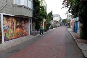 La via dei murales a San Francisco