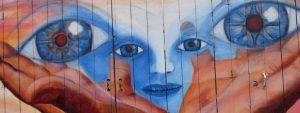 San Francisco murales occhi