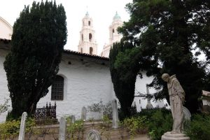 Mission Dolores cimitero a San Francisco