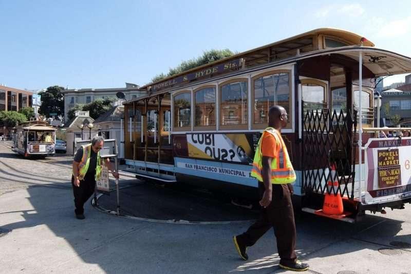 Cable car a San Francisco