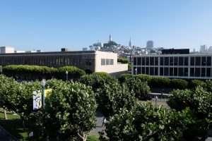 Coit tower dal molo di San Francisco