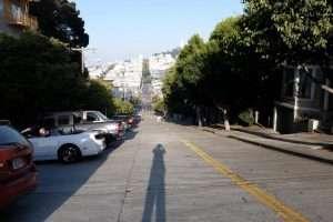 San Fransisco strade in discesa