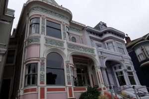 San Francisco Painted Ladies rosa e viola
