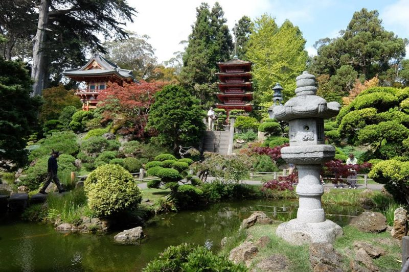 Golden Gate park giardino giapponese pagode