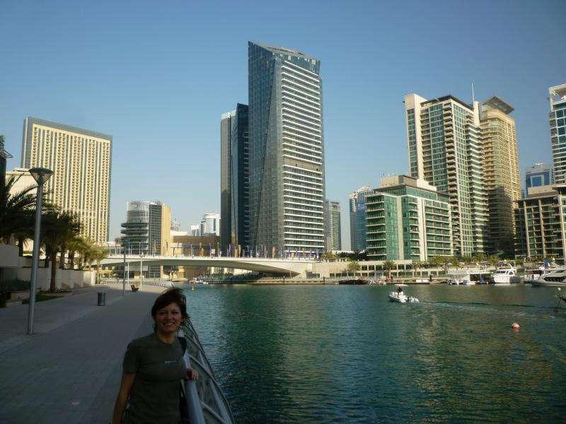 Canali al Dubai Marina