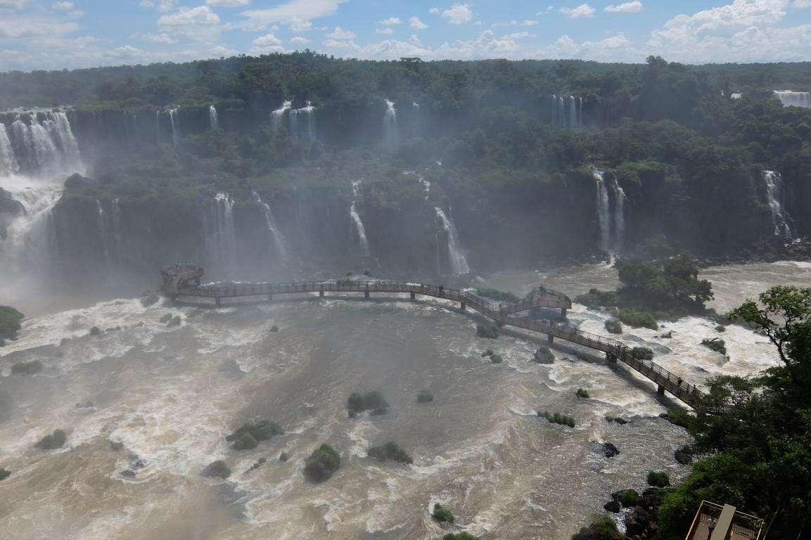 cascate Iguazù passerella