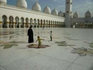 corte centrale della moschea