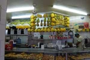 negozio tipico a Rio