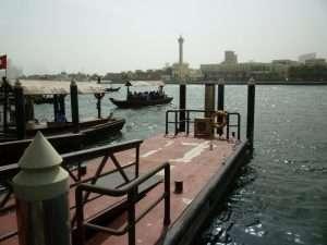 il fiume Creek a Dubai