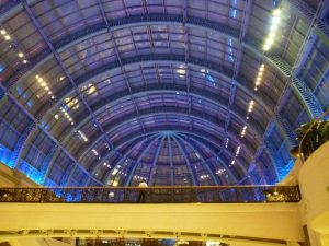 copertura del Mall of the emirates