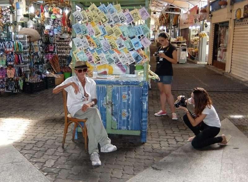 Feira de Sao Cristovao venditore biglietti