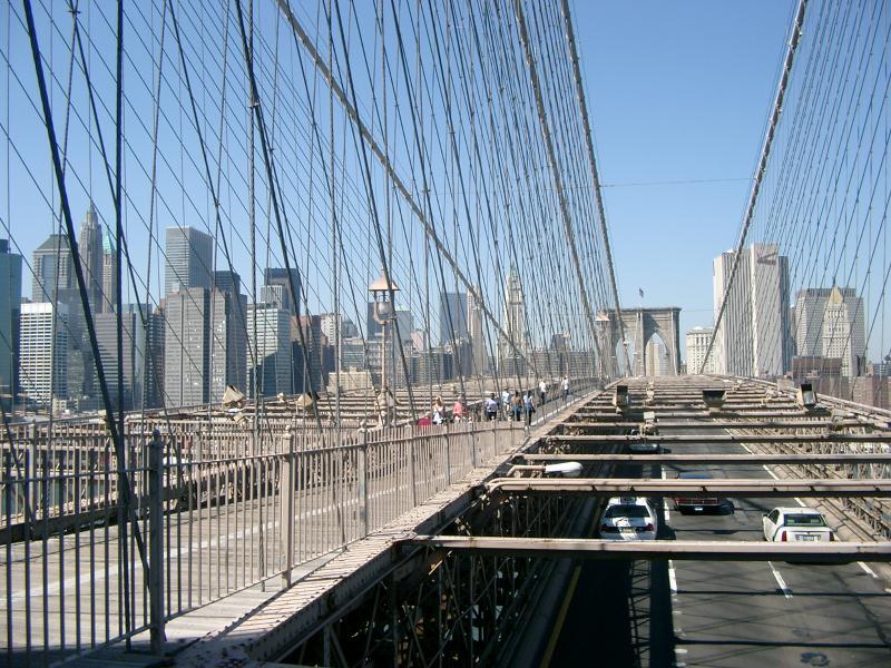Brooklyn Bridge verso i Boroughs