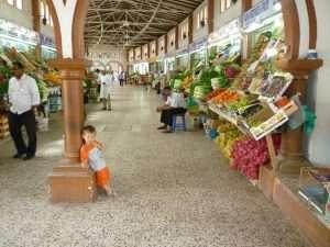 Mercato di frutta e verdura