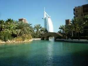 Madinat resort vista su Burj al arab
