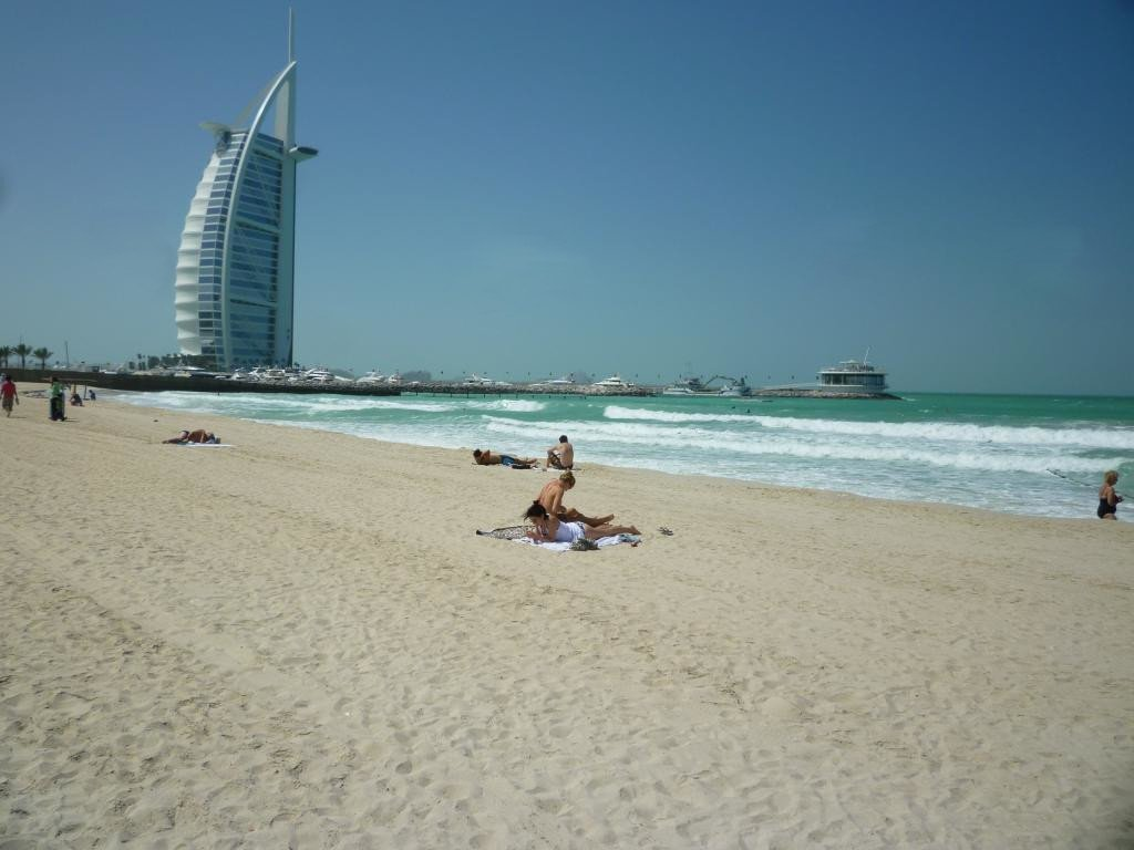 Burj al Arab spiaggia
