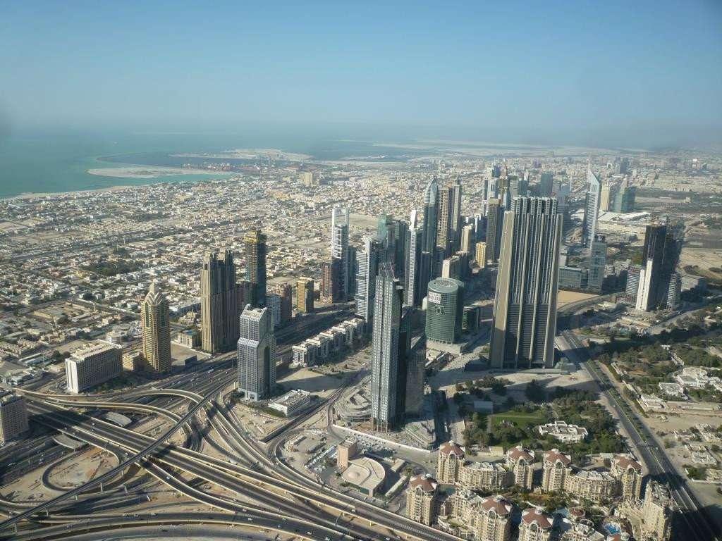 downtown Dubai dal Burj Khalifa