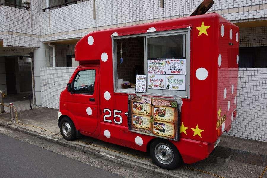 Street food furgoncino Giappone Tokyo