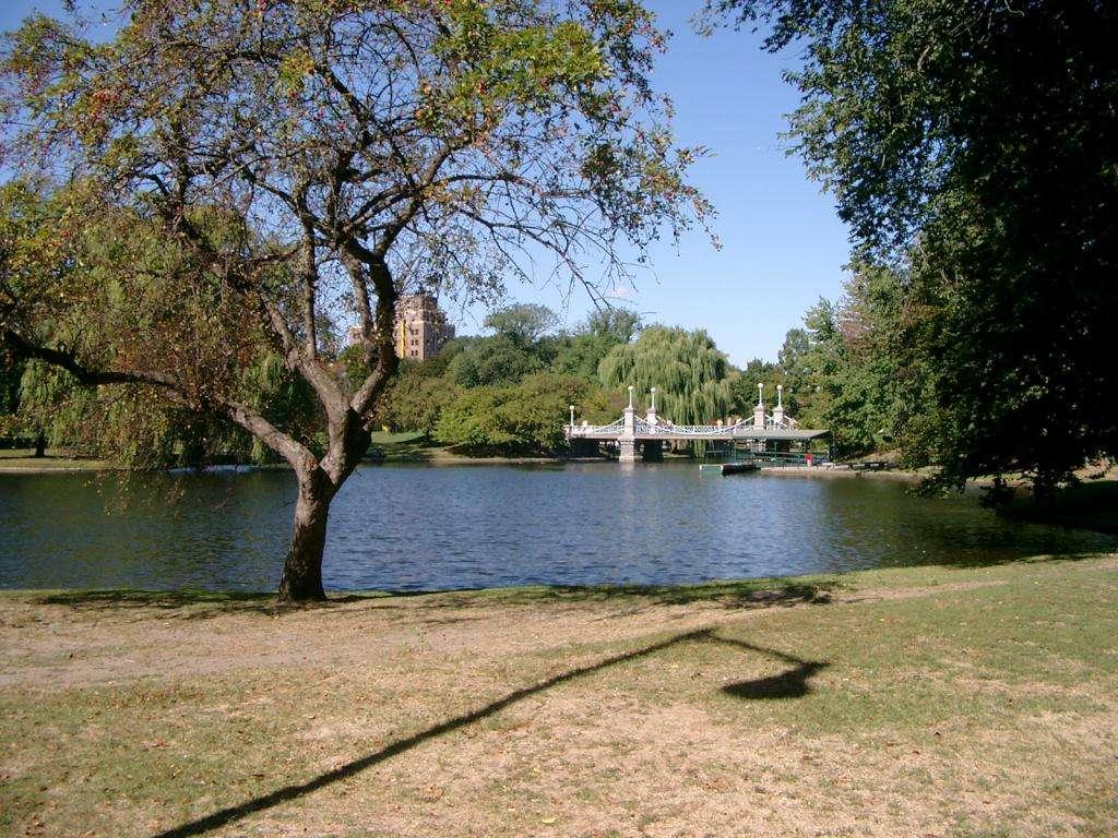 Ponte Public Garden di Boston