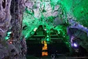 La grotta sulla rocca di Gibilterra