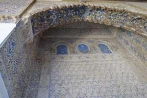 Alcazar di Siviglia portale interno