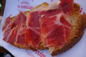 Jamon iberico a Siviglia