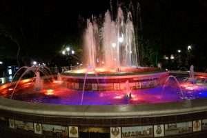 Fontana colorata Marbella