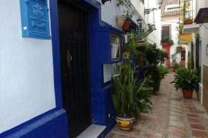 Marbella via del centro storico