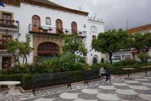 Marbella piazza degli aranci