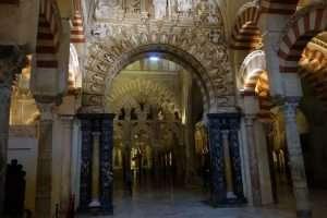Archi e colonne della mezquita