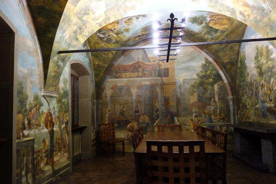 Sala da pranzo Casa Cavazzini Udine