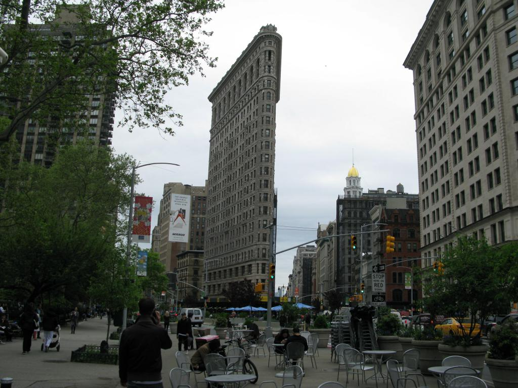 Flatiron e Madison square