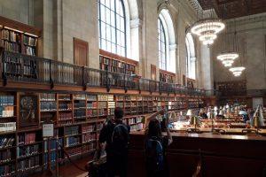 Interno della Public Library New York
