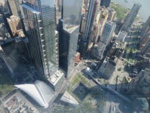Vista su Ground zero