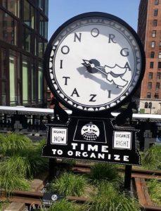 L'orologio sulla High Line