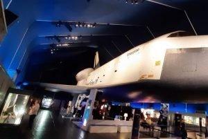 Enterprise esposta al museo spaziale di New York