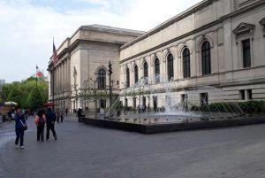 Metropolitan Museum of art New York fontana