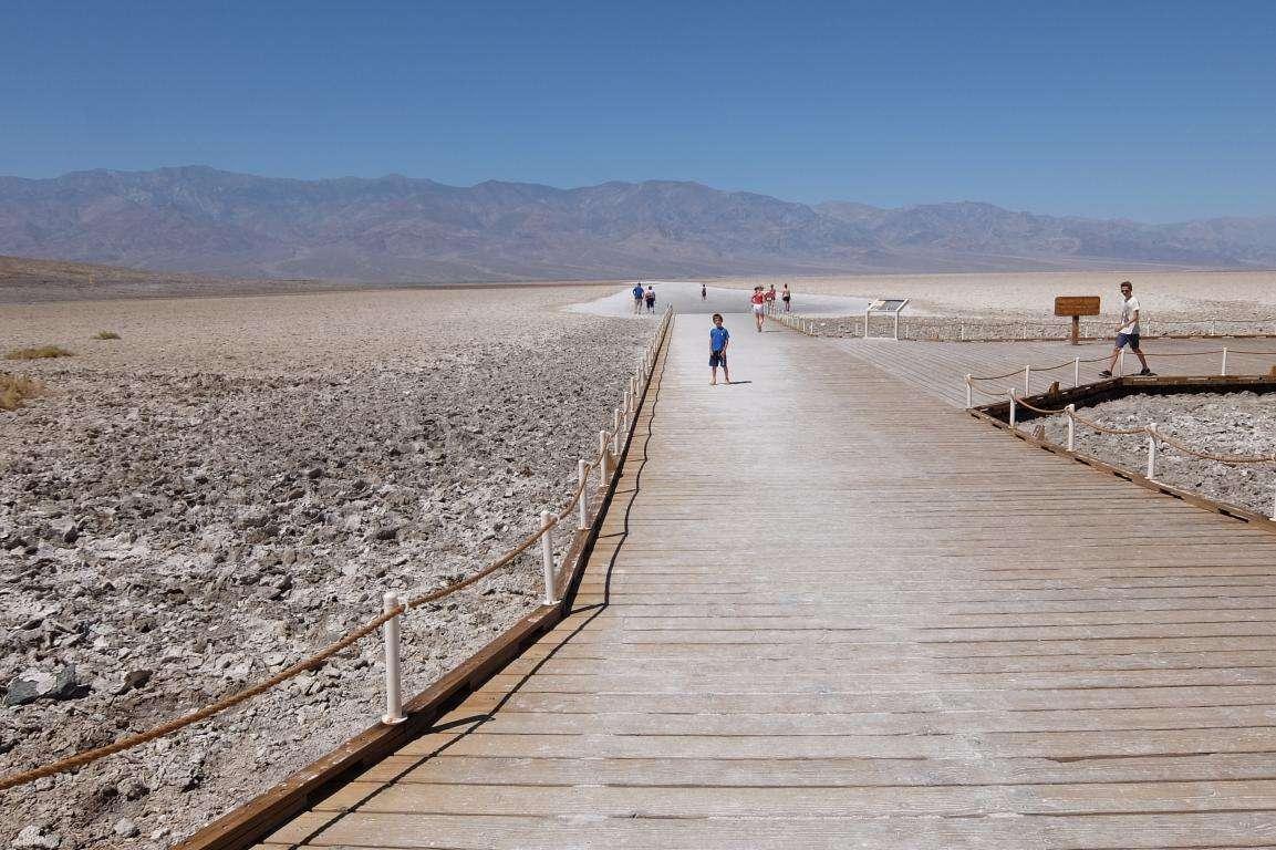 Death Valley valle della mortecosa vedere