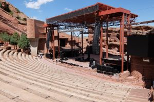 Palco Red Rock Amphitheater