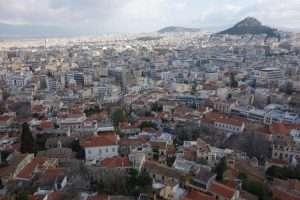 Vista dall'Acropoli Atene