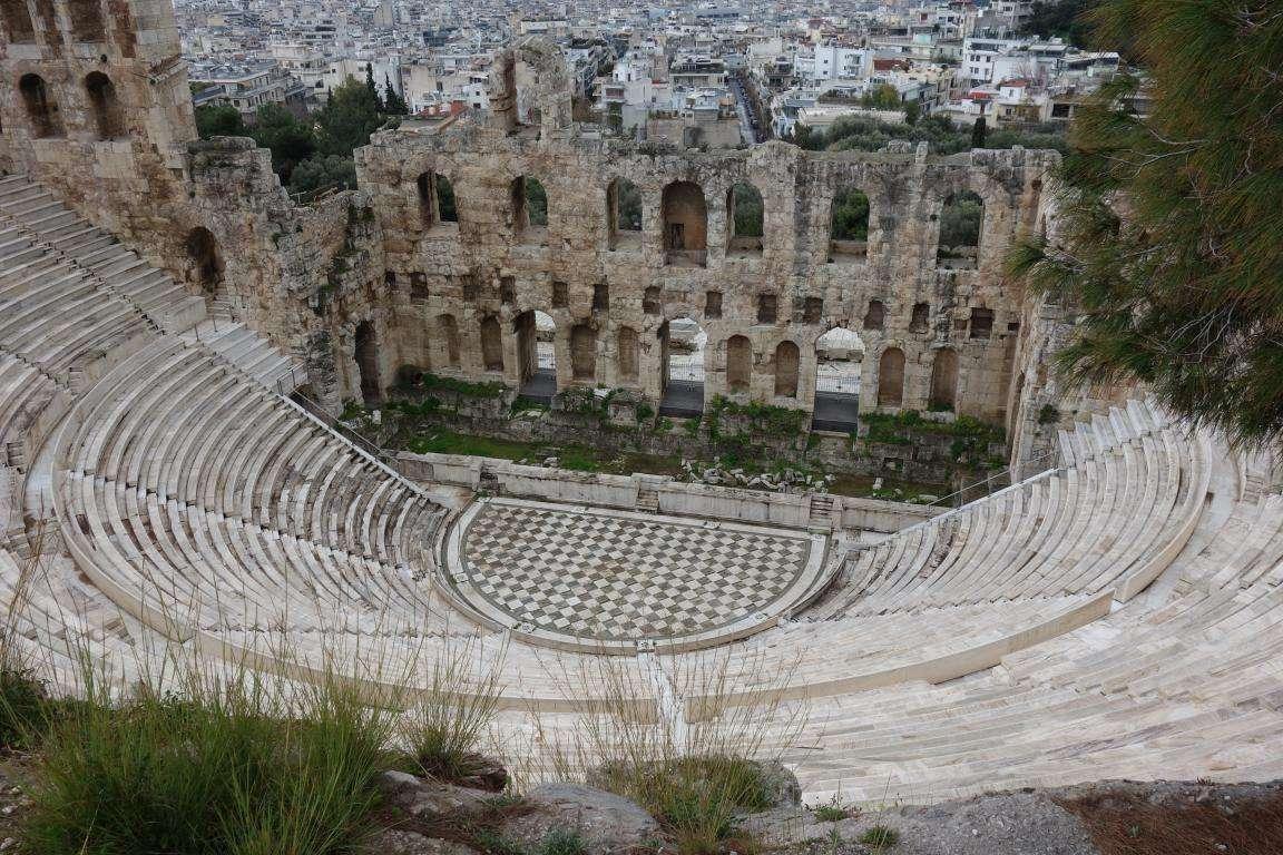 Teatri acropoli Atene