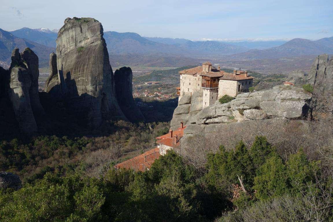Meteore e monasteri