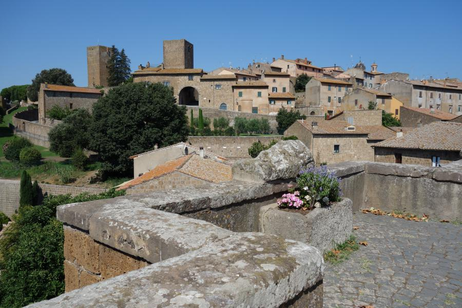 Tuscania cittadella medievale