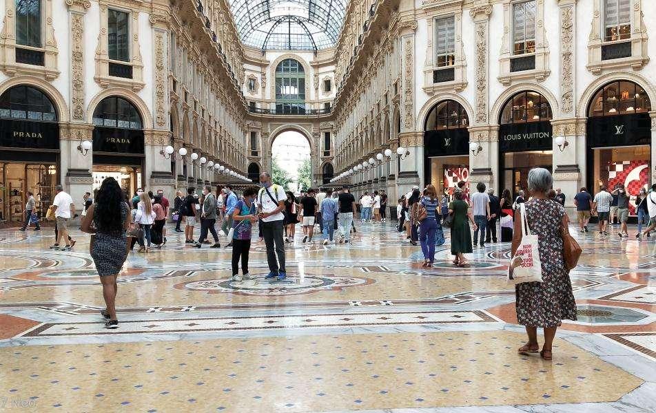 Galleria Vittorio Emanuele II interno